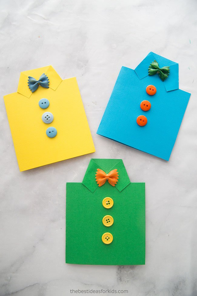 Fathers Day Shirt Card Craft