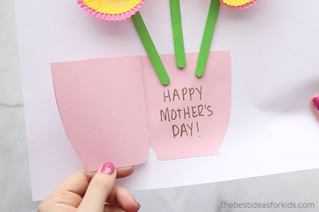 Homemade Mothers Day Card