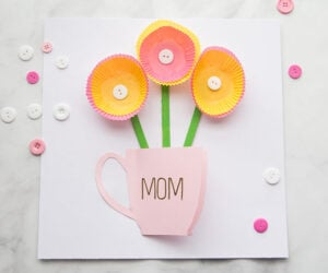 Mothers Day Card Handmade