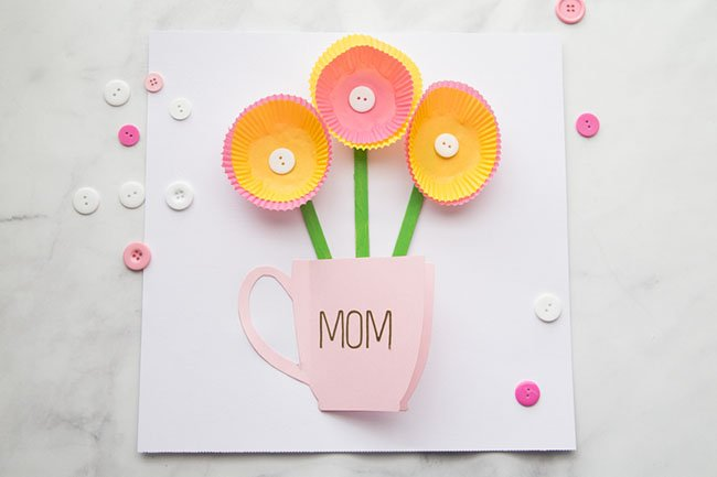Sensational Handmade Mothers Day Card The Best Ideas For Kids Personalised Birthday Cards Paralily Jamesorg