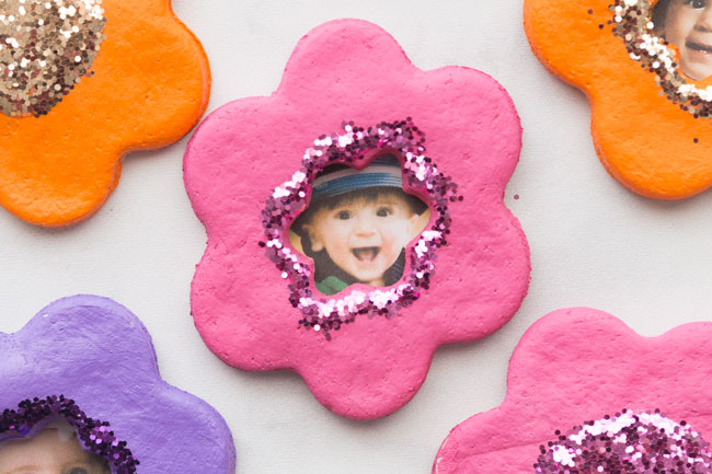 Salt Dough Flower Magnets The Best Ideas For Kids