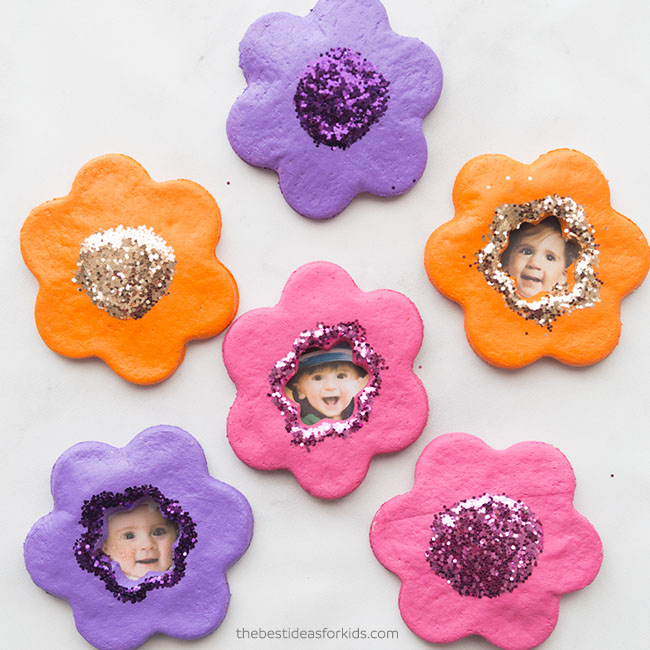 Salt Dough Ornament Flowers Craft