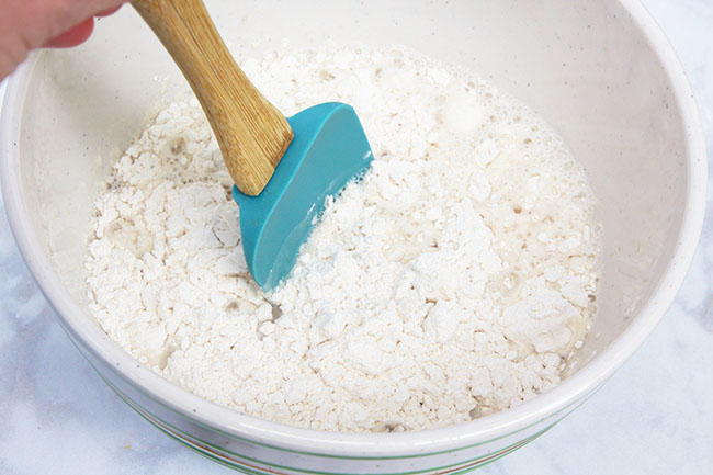 Add Flour to Make Puffy Paint