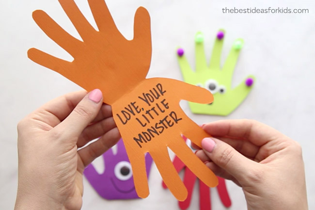 Love Your Little Monster Craft