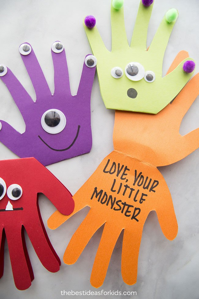 Monster Halloween Kids Craft