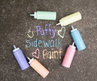 Sidewalk Paint Puffy
