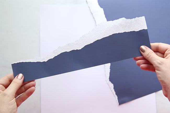 Rip Paper to Make Water