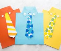 Shirt Tie Card Template