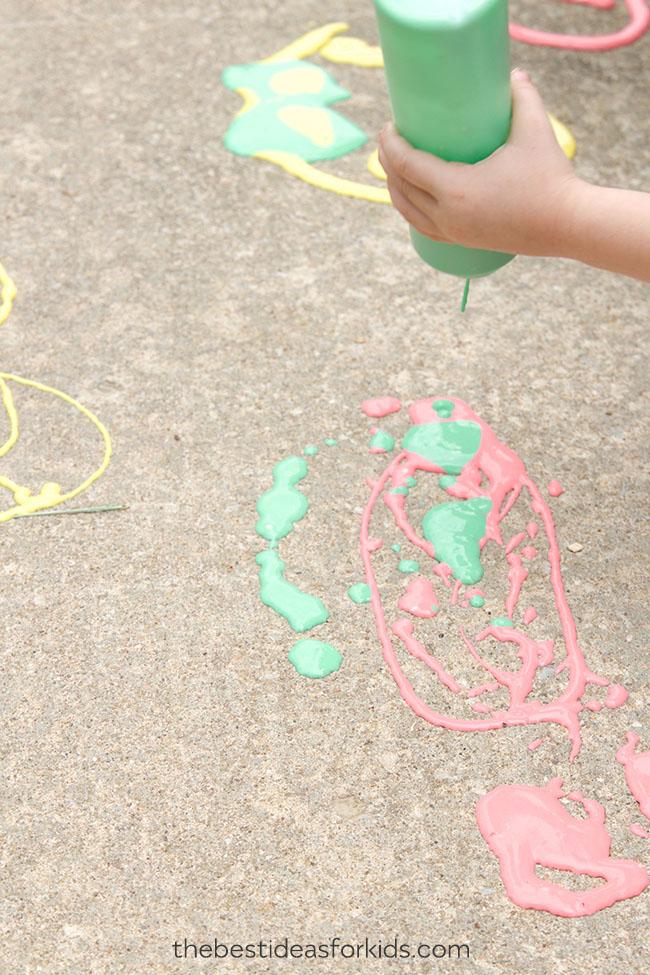 Sidewalk Paint Puffy Paint