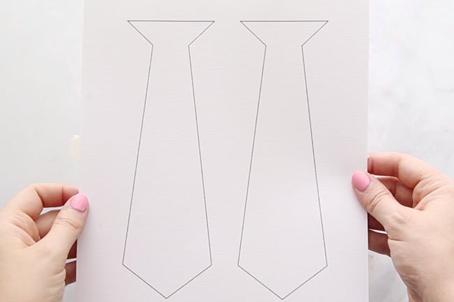 tie template the best ideas for kids