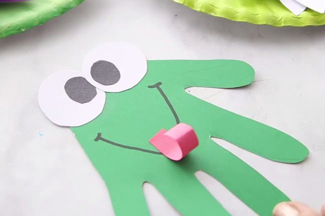 Frog Craft for Kids