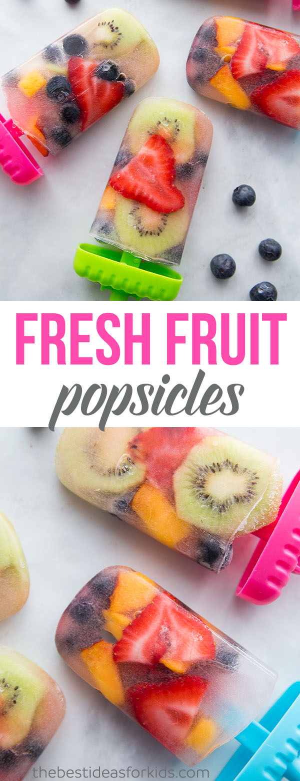 Fruit Popsicle Recipes