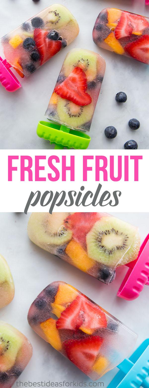 Fruit Popsicle Recipes