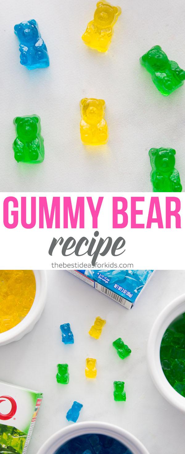 Homemade Gummy Bear Recipe