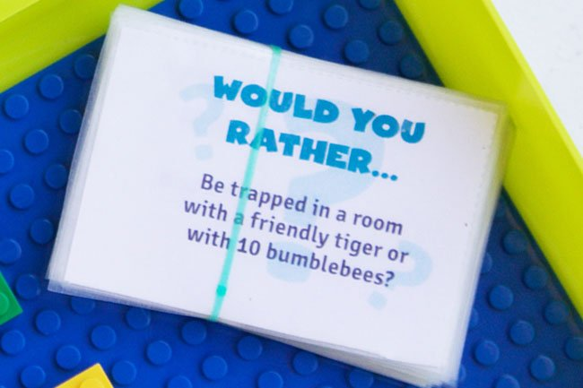 photograph regarding Would You Rather Printable called 100 Would By yourself As an alternative Inquiries For Youngsters - The Perfect Plans for