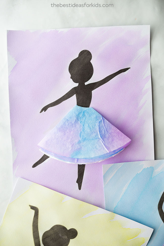 Ballerina Silhouette Free Printable