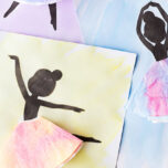Free Ballerina Silhouette Templates