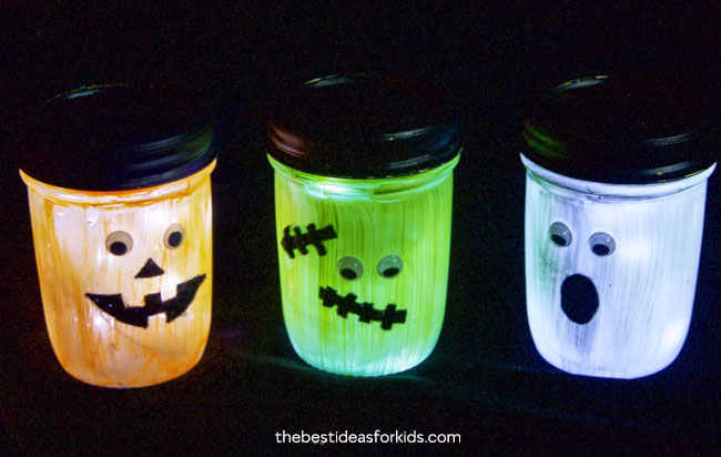 Halloween Lanterns Craft