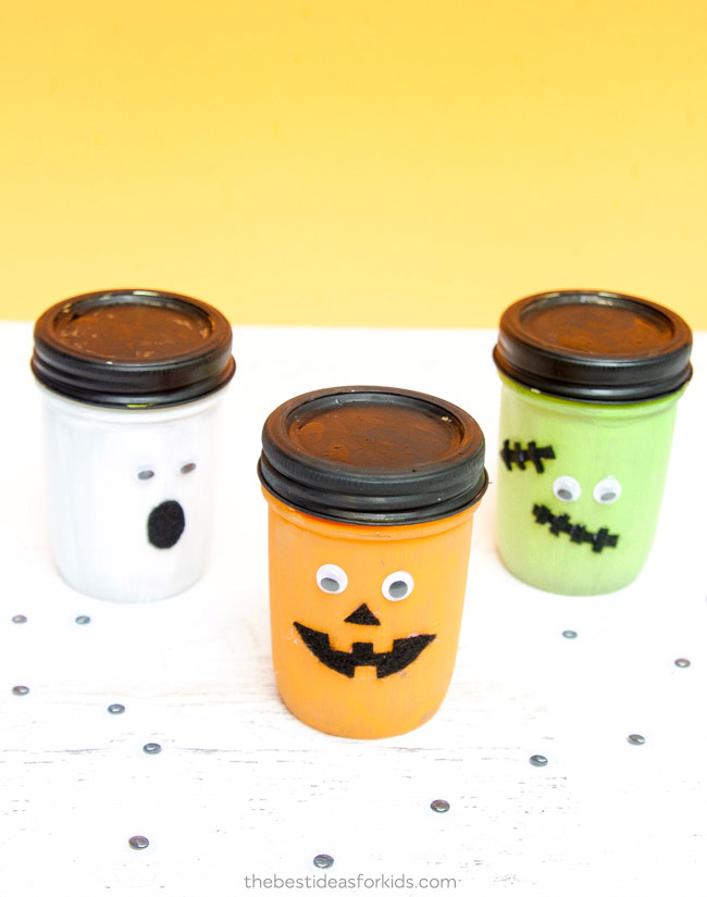 Halloween Mason Jars DIY