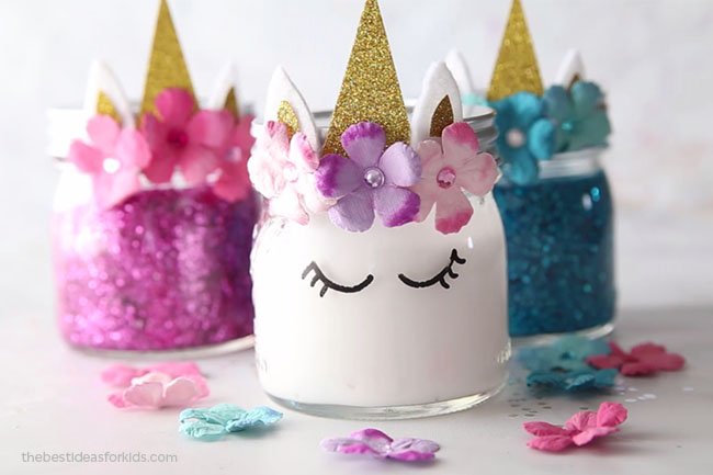 Unicorn Slime Recipe Idea
