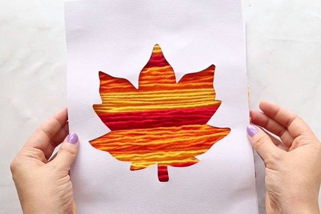 Leaf Painting - The Best Ideas for Kids