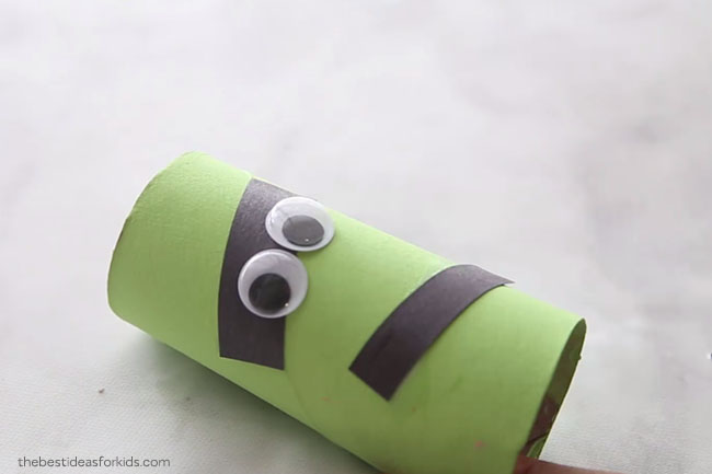 Frankenstein Toilet Paper Roll