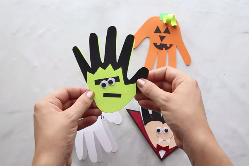 How To Make The Perfect Handprint With Paint