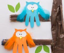 Handprint Owl