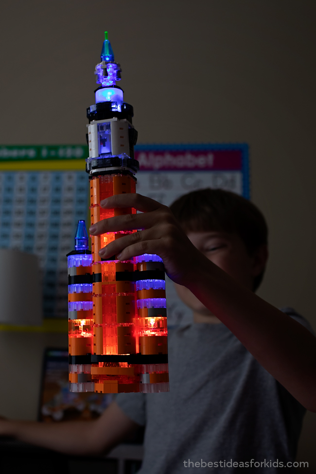 Light Up Construction Lego