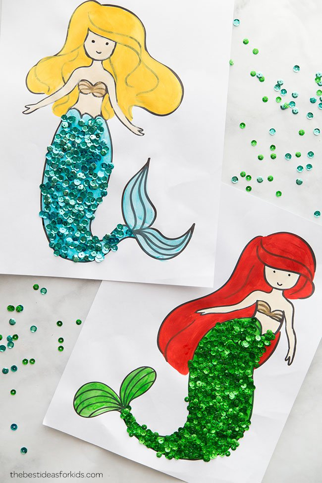 Mermaid Coloring Pages - The Best Ideas For Kids
