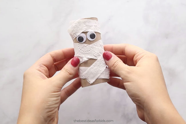 Mummy Toilet Paper Roll