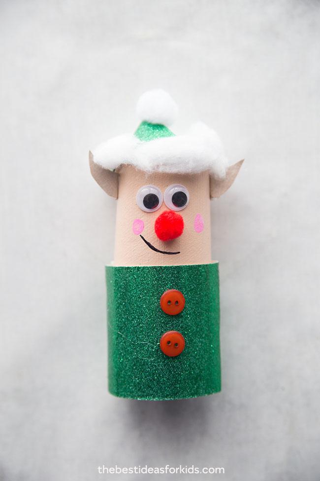 Elf Toilet Paper Roll Craft