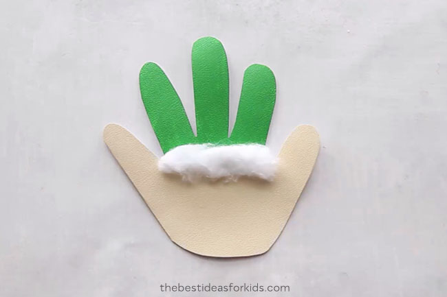 Elf Handprint Card