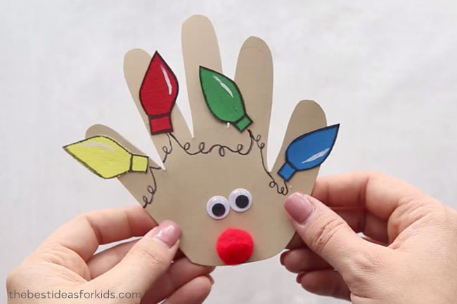 Christmas Handprint Ideas