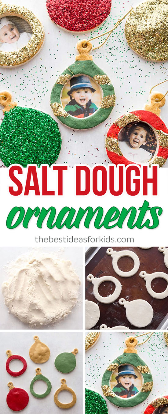 Christmas Salt Dough Ornament Recipe
