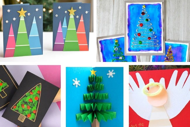 Christmas Ideas For Kids Cards.15 Christmas Card Ideas The Best Ideas For Kids