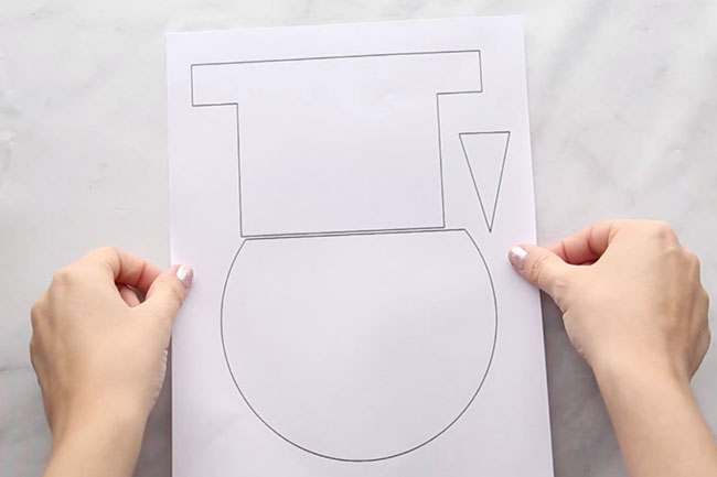 Free Snowman Craft Template