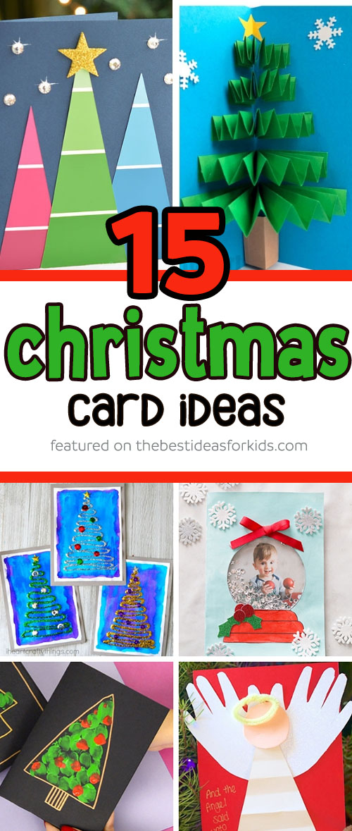 Ideas For Christmas Cards Handmade.15 Christmas Card Ideas The Best Ideas For Kids