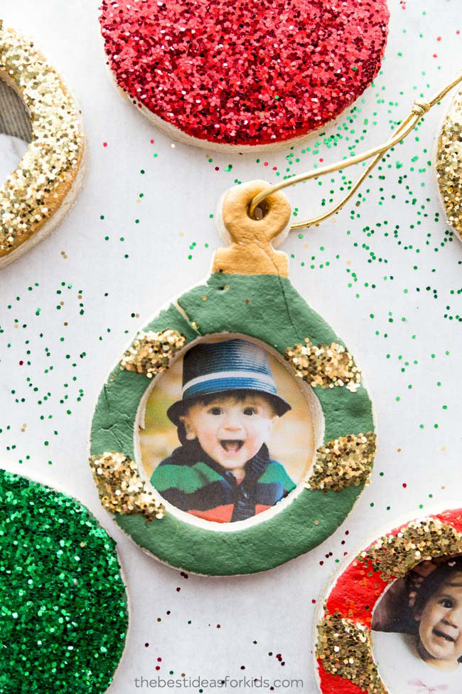 Photo Salt Dough Ornaments