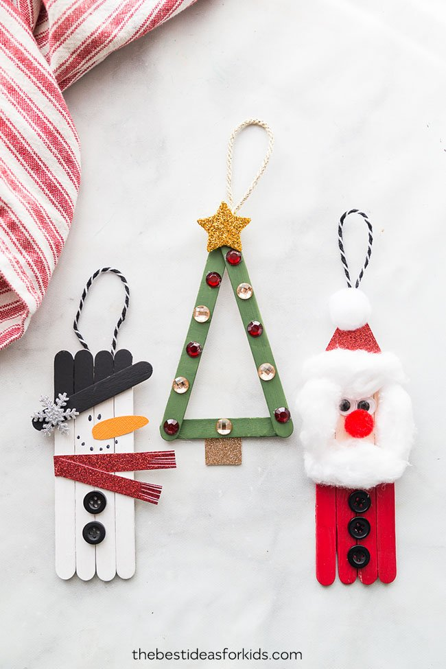Popsicle Stick Christmas Crafts - The Best Ideas for Kids