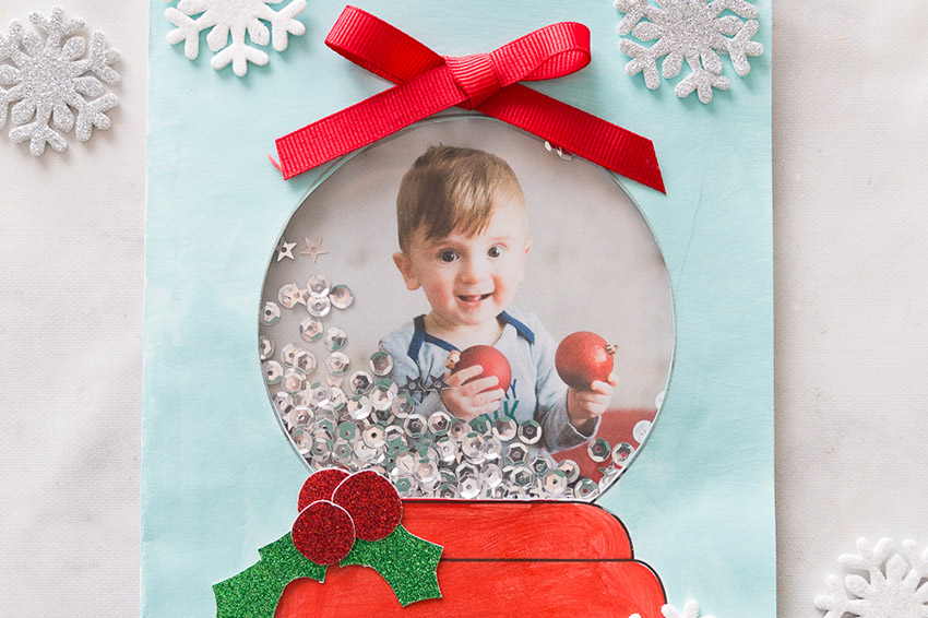 1eb8fab7f04d Snow Globe Template Card - The Best Ideas for Kids