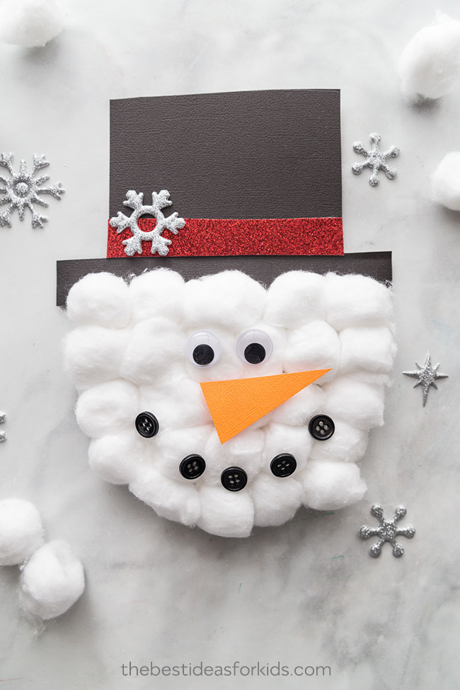 Snowman Christmas Cards Ideas.Snowman Craft The Best Ideas For Kids