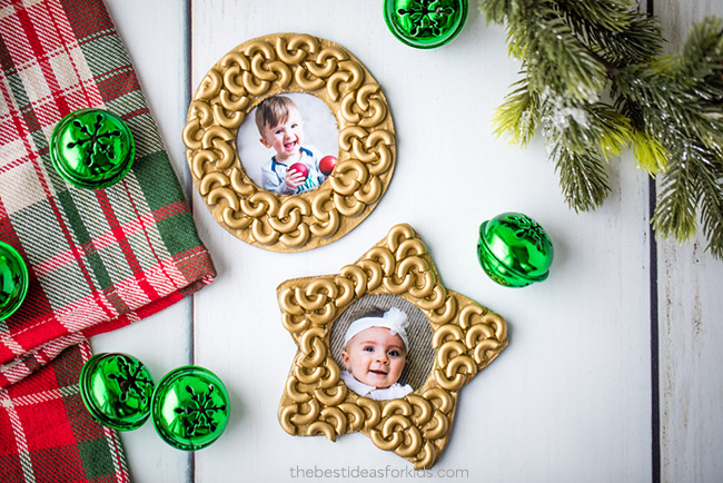 Macaroni Ornaments
