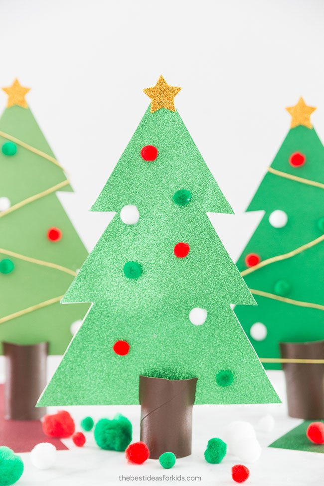 Christmas Tree Craft.Christmas Tree Outline The Best Ideas For Kids