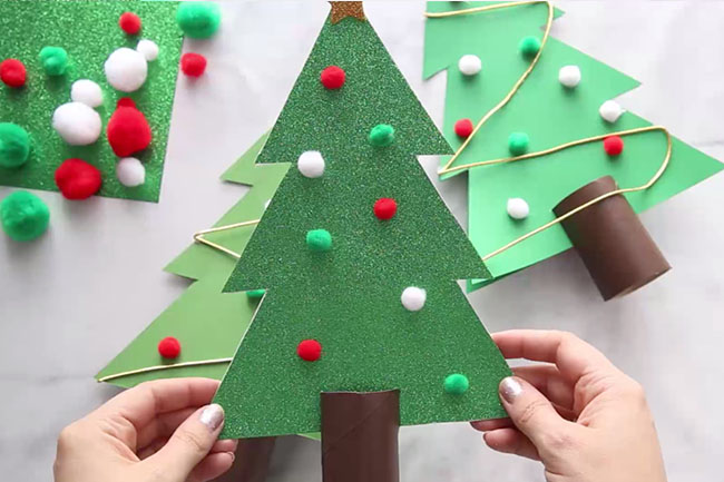 Make a 3D Christmas Tree Template