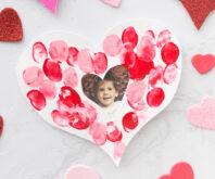 Fingerprint Heart Card Cover