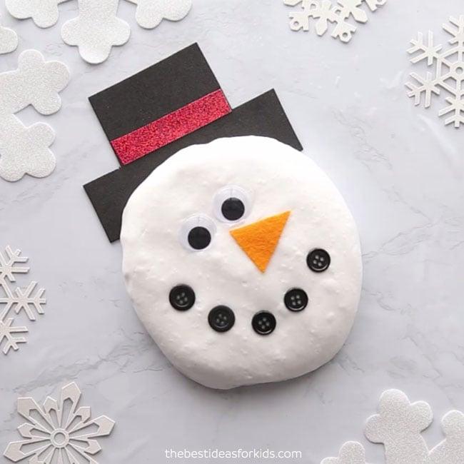 Fluffy Snowman Slime