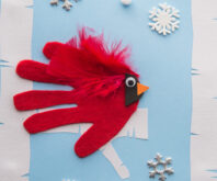 Handprint Cardinal
