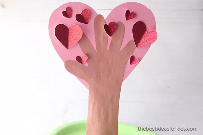 Heart Handprint Heart