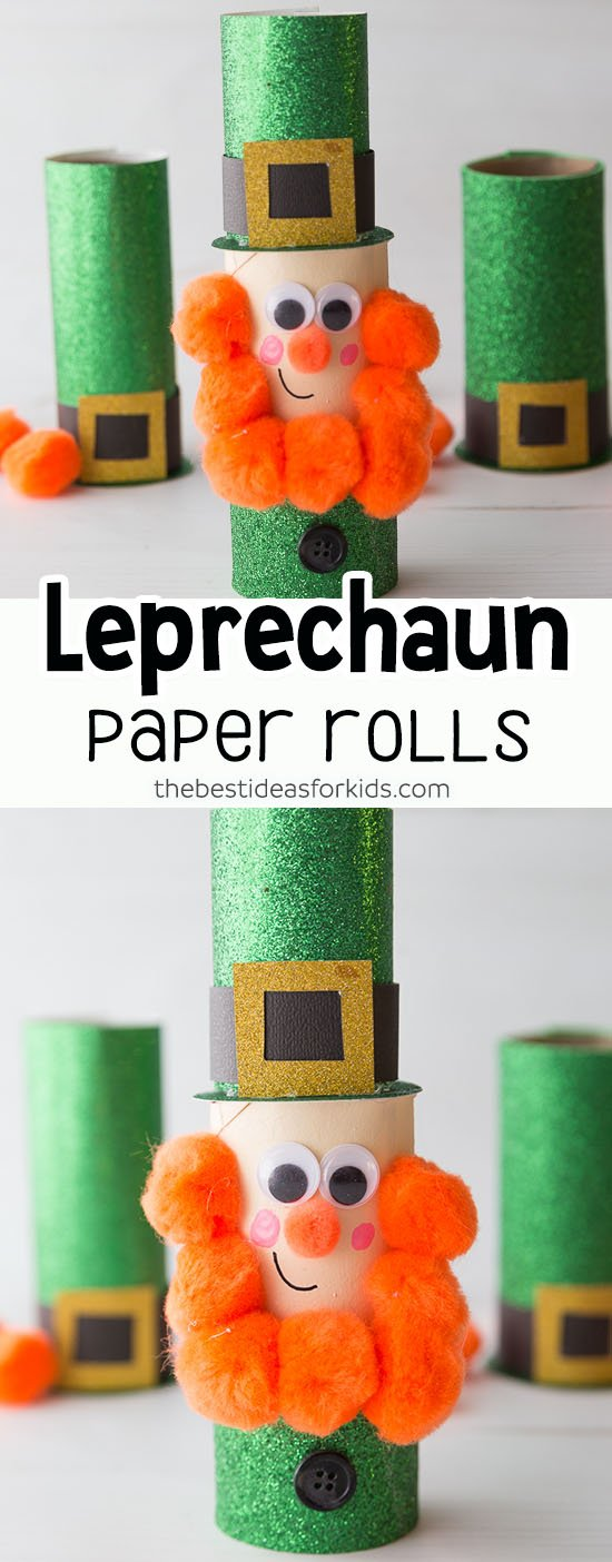 Leprechaun St Patrick's Day Craft for Kids